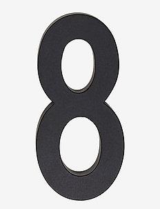 Architect numbers 50 mm - woningdecoratie - black