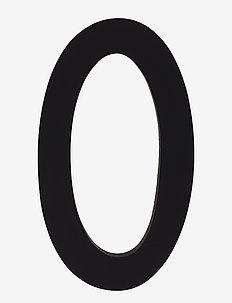 Architecht numbers 100 mm - pyntegjenstander - black