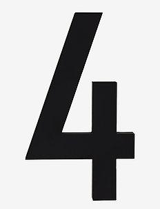 Architecht numbers 100 mm - deko - black