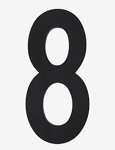 Architect numbers 100 mm - accessoires décoratifs - black