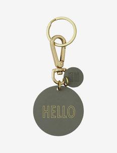 Key Ring - sleutelringen - green