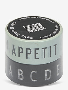 Say it with tape - home decor - black