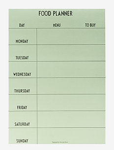 Weekly Food planner - Green - woningdecoratie - green