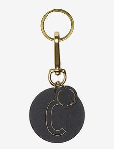 Personal key ring & bagtag - sleutelringen - brass