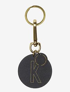 Personal key ring & bagtag - key rings - brass
