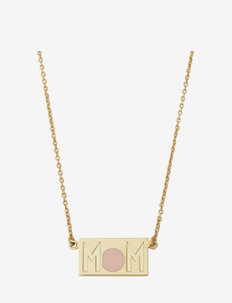 MOM Necklace - statement necklaces - gold