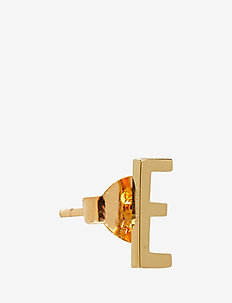EARRING STUDS ARCHETYPES, GOLD, A-Z - studs - gold