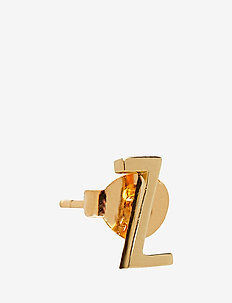 EARRING STUDS ARCHETYPES, GOLD, A-Z - GOLD