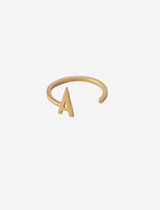 Ring A-Z Gold - rings - gold