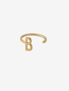 Ring A-Z Gold - ringar - gold
