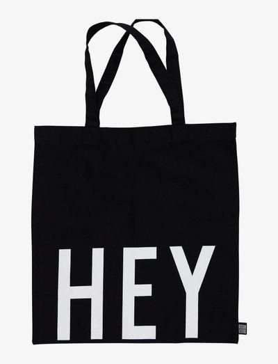 Tote bag black - sacs en toile - black