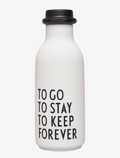 To Go Water Bottle Special Edition - bouteilles à eau - white