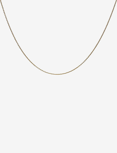 45cm chain 18k gold plated silver - colliers - gold