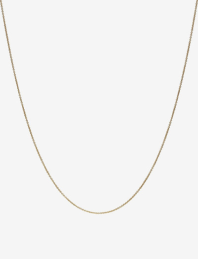 60 cm chain 18k gold plated silver - colliers - gold