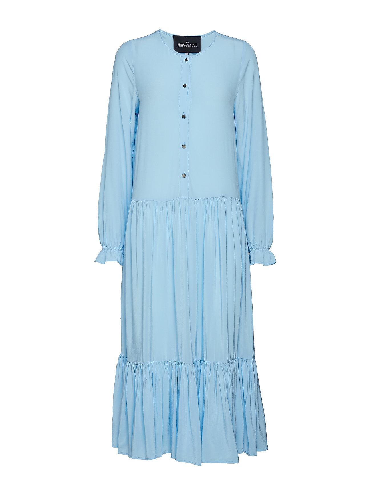 DESIGNERS, REMIX Nini A-line Dress - SKY BLUE