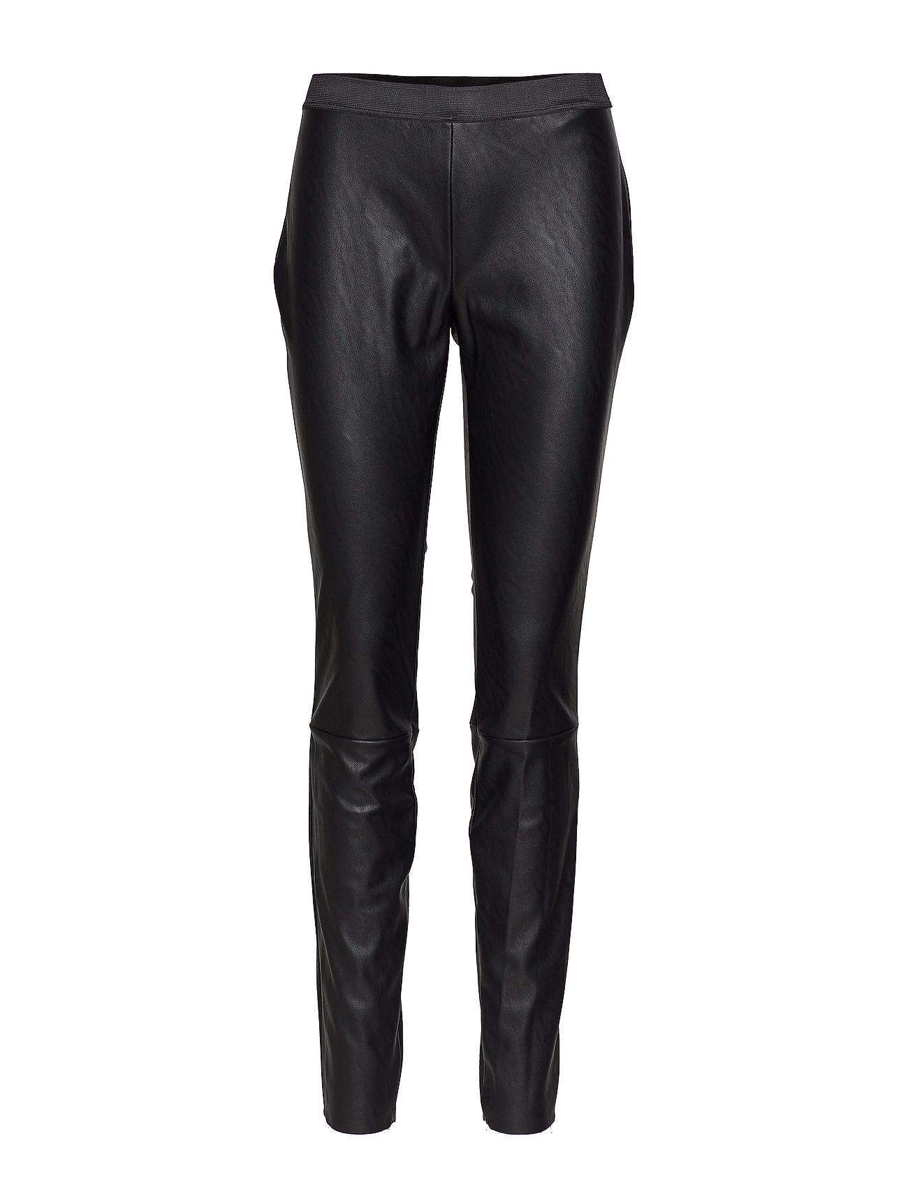 DESIGNERS, REMIX Leather free stretch leggings - BLACK