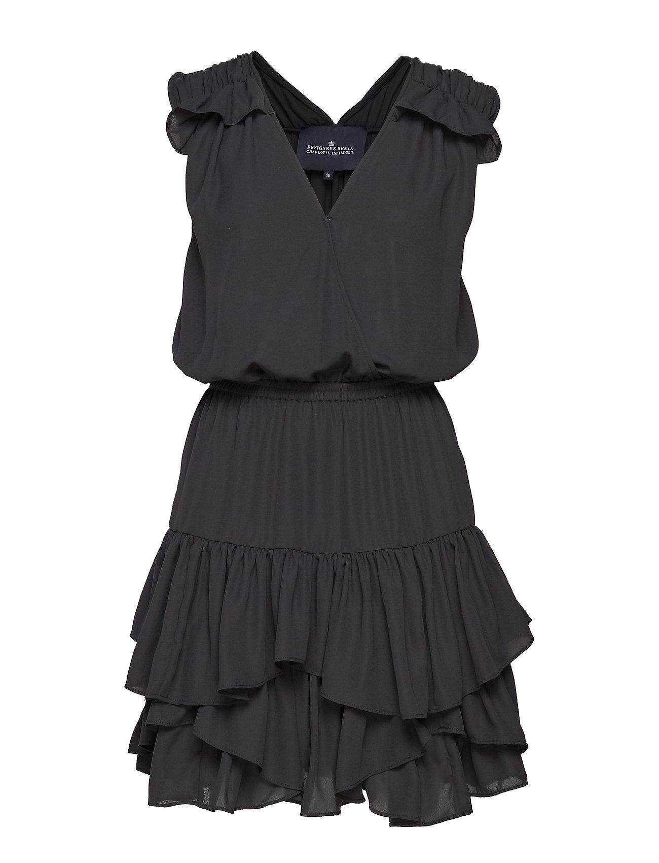b111eb7e253 Saga Summer korte kjoler fra Designers Remix til dame i Sort ...