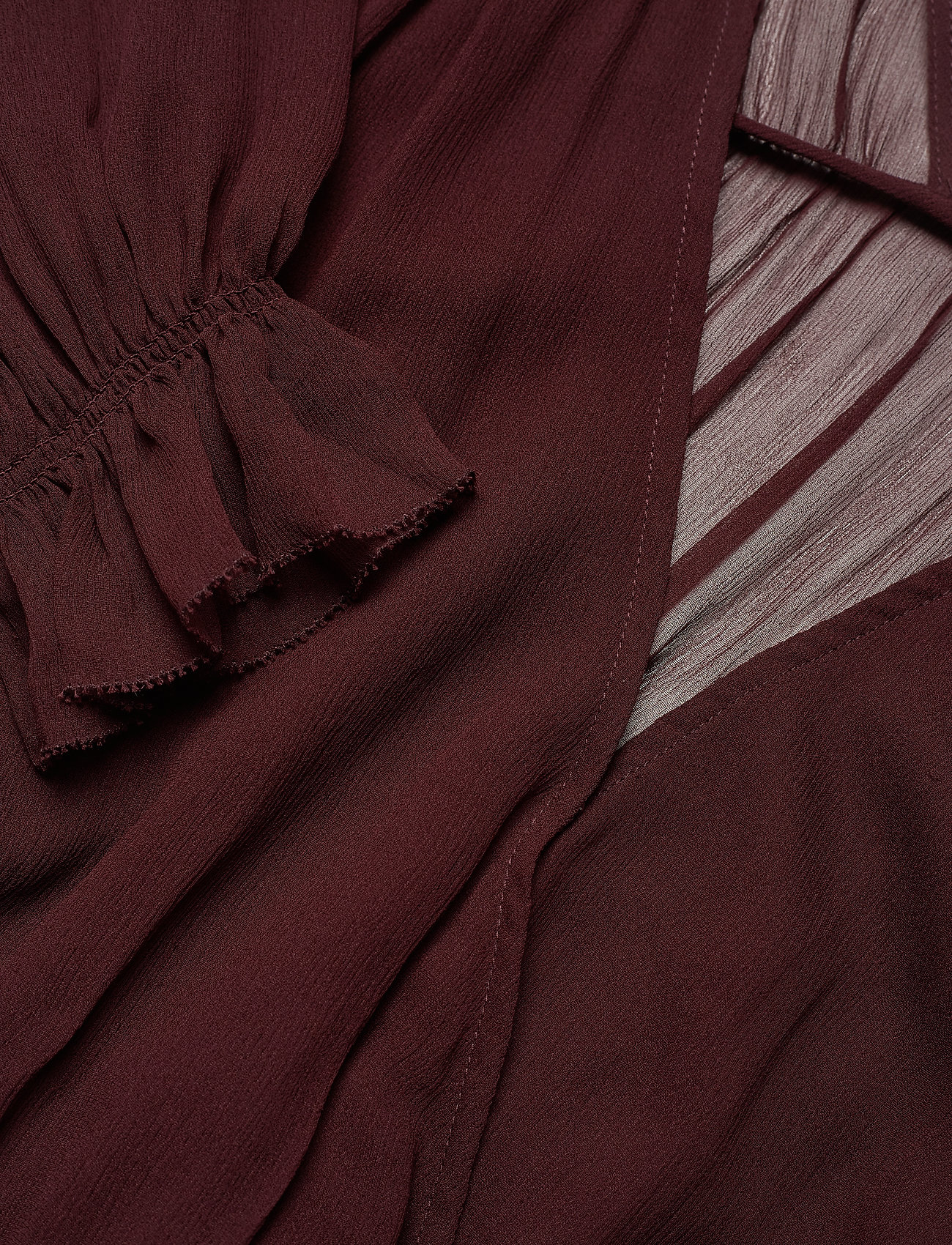 Mindy Ruffle Dress (Rouge Noir) (1452 kr) - DESIGNERS, REMIX