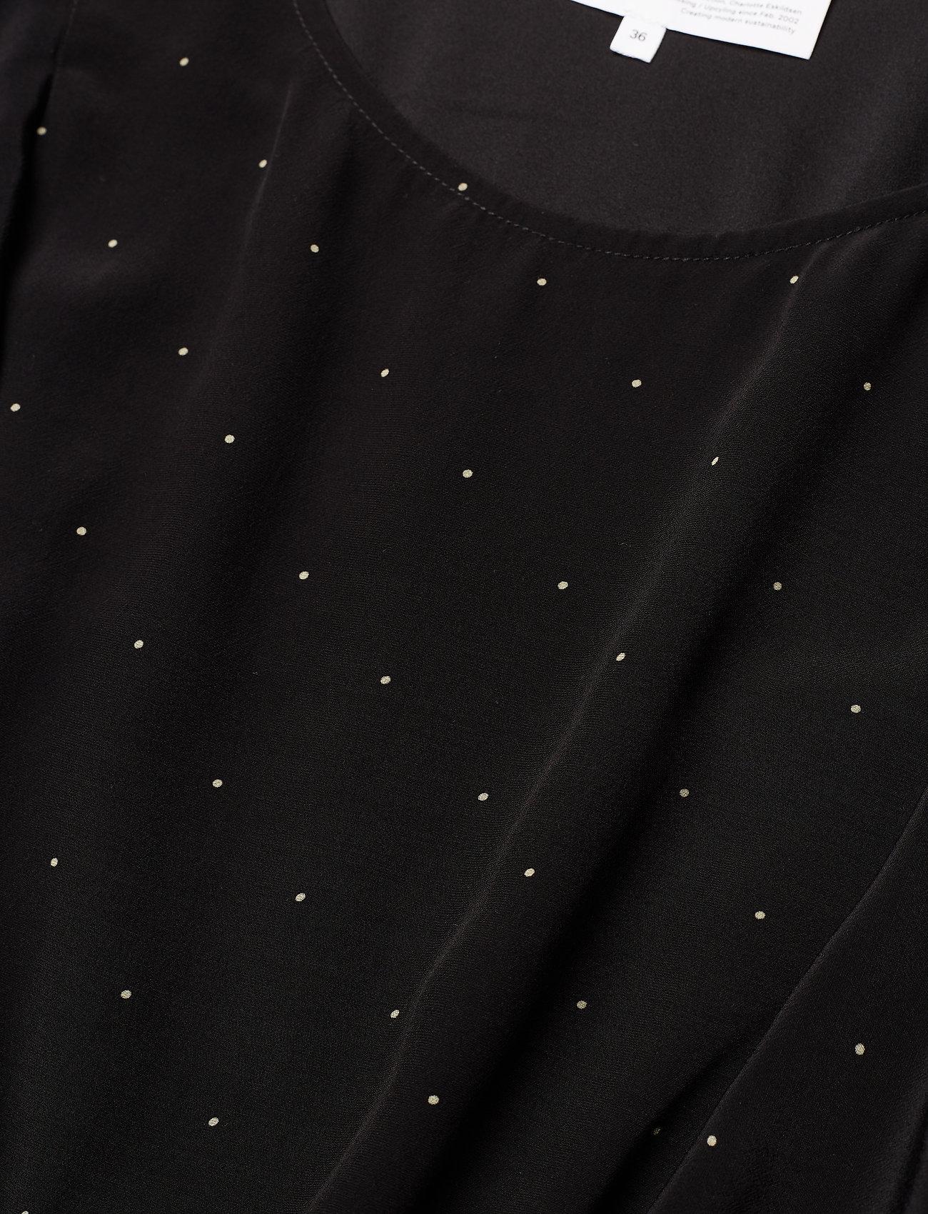 Leana Wrap Dress (Black/yellow Dot) (778 kr) - DESIGNERS, REMIX