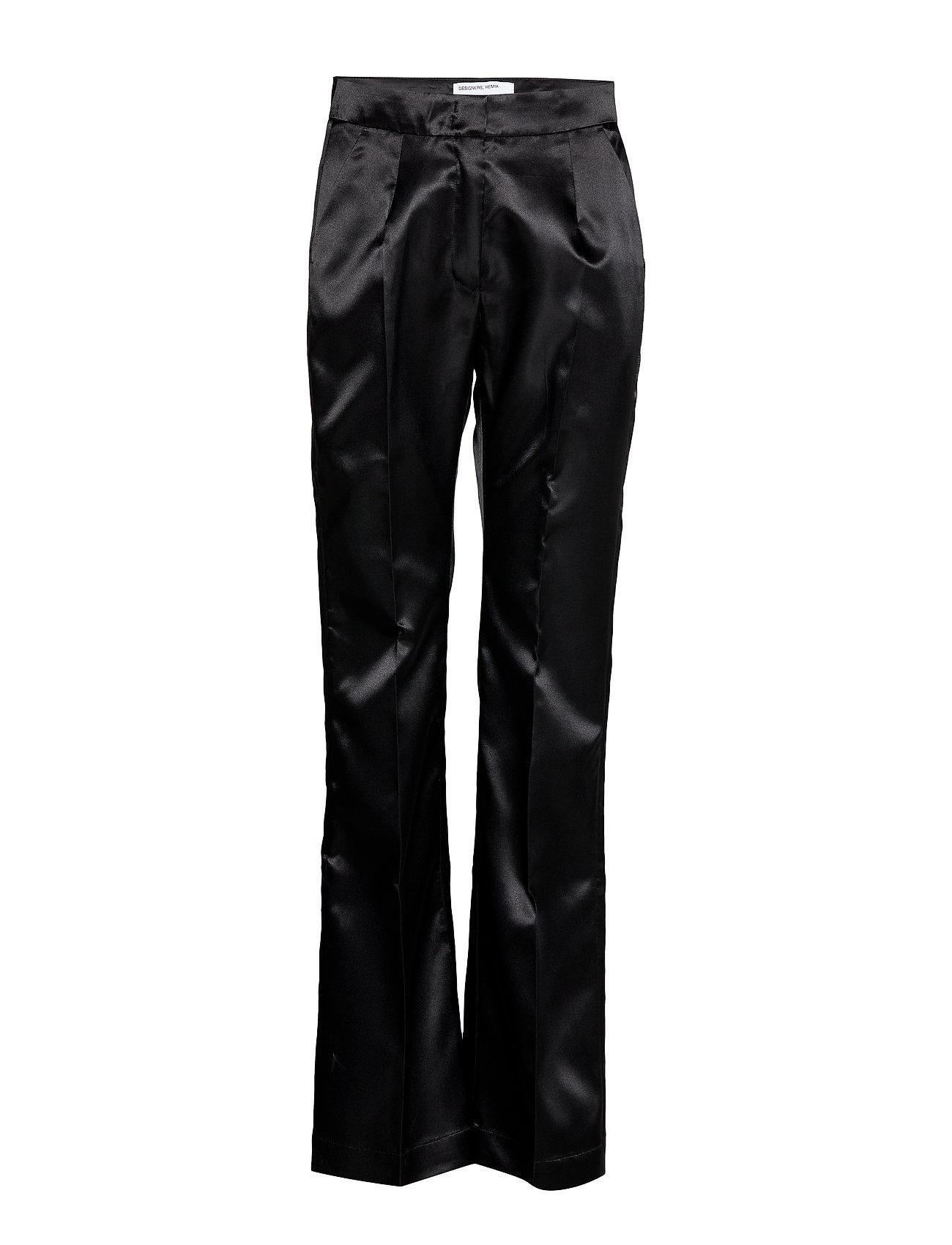 Image of Dex Suit Pants Bukser Med Lige Ben Sort DESIGNERS, REMIX (3242139923)