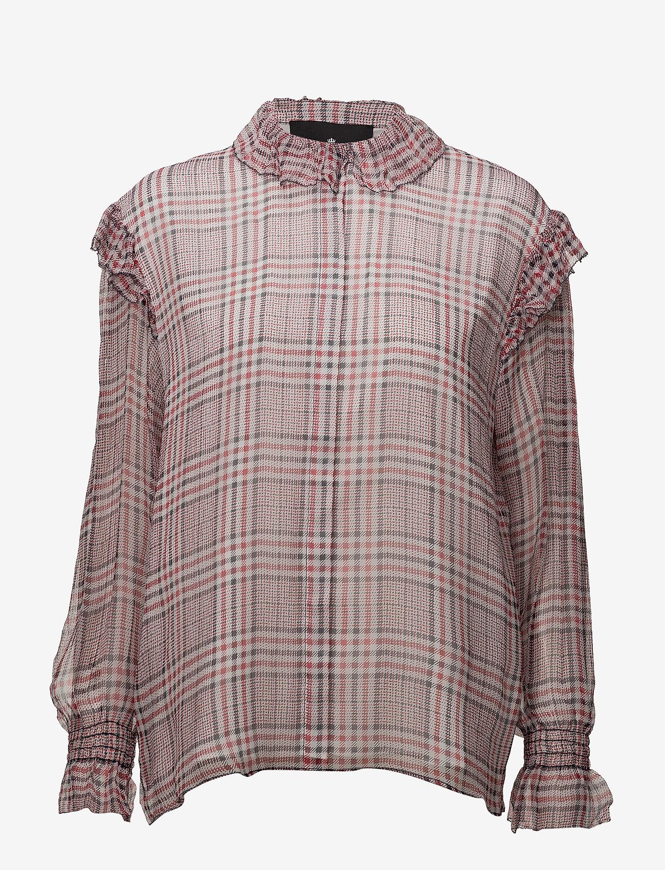 DESIGNERS, REMIX - Archie Shirt - langærmede bluser - check - 0