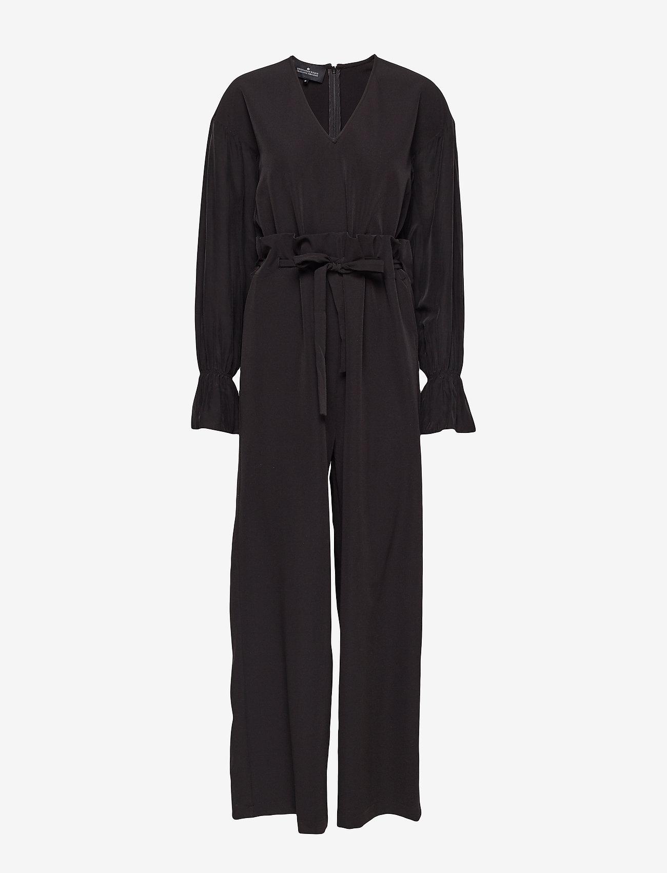 DESIGNERS, REMIX - Veronique Jumpsuit - jumpsuits - black - 0