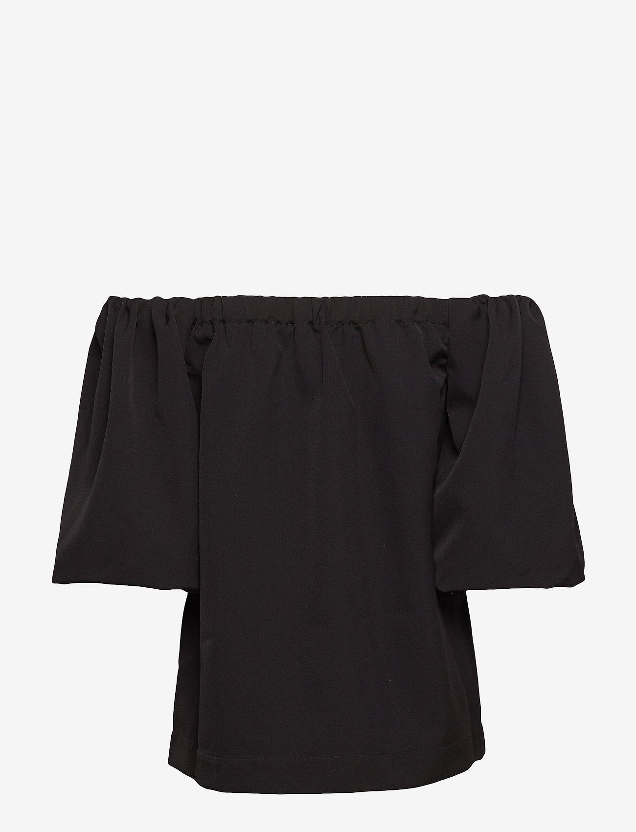 Veronique Sleeve Top (Black) (666 kr) - DESIGNERS, REMIX