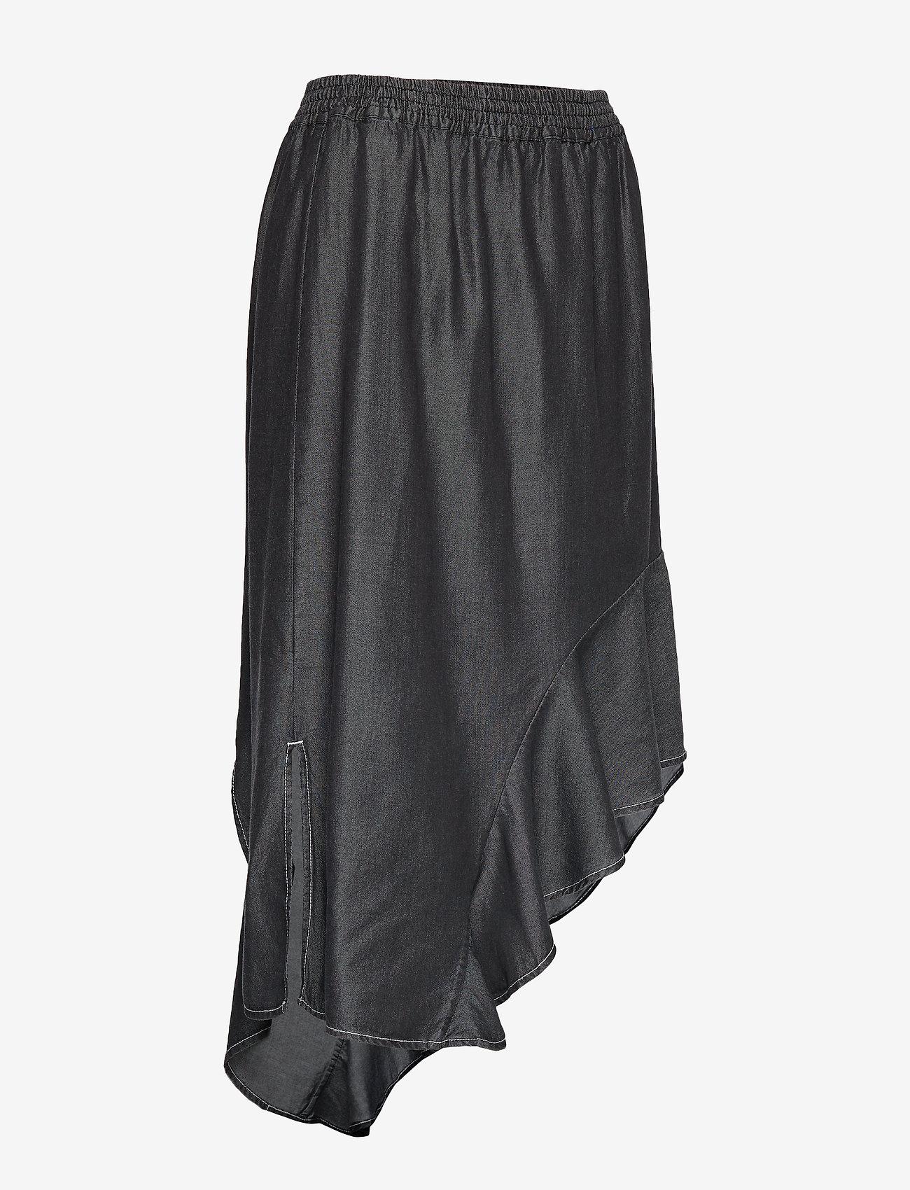 Polly Skirt (Black Denim) (666 kr) - DESIGNERS, REMIX
