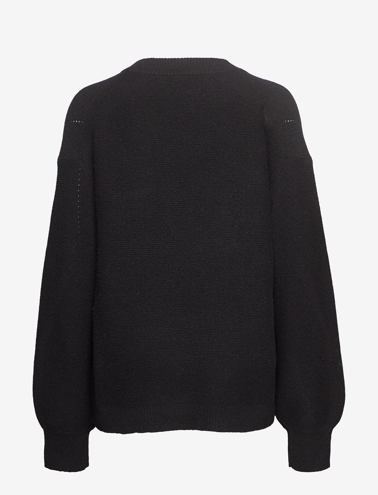 Silvia Sweater (Black) (1069.75 kr) - DESIGNERS, REMIX