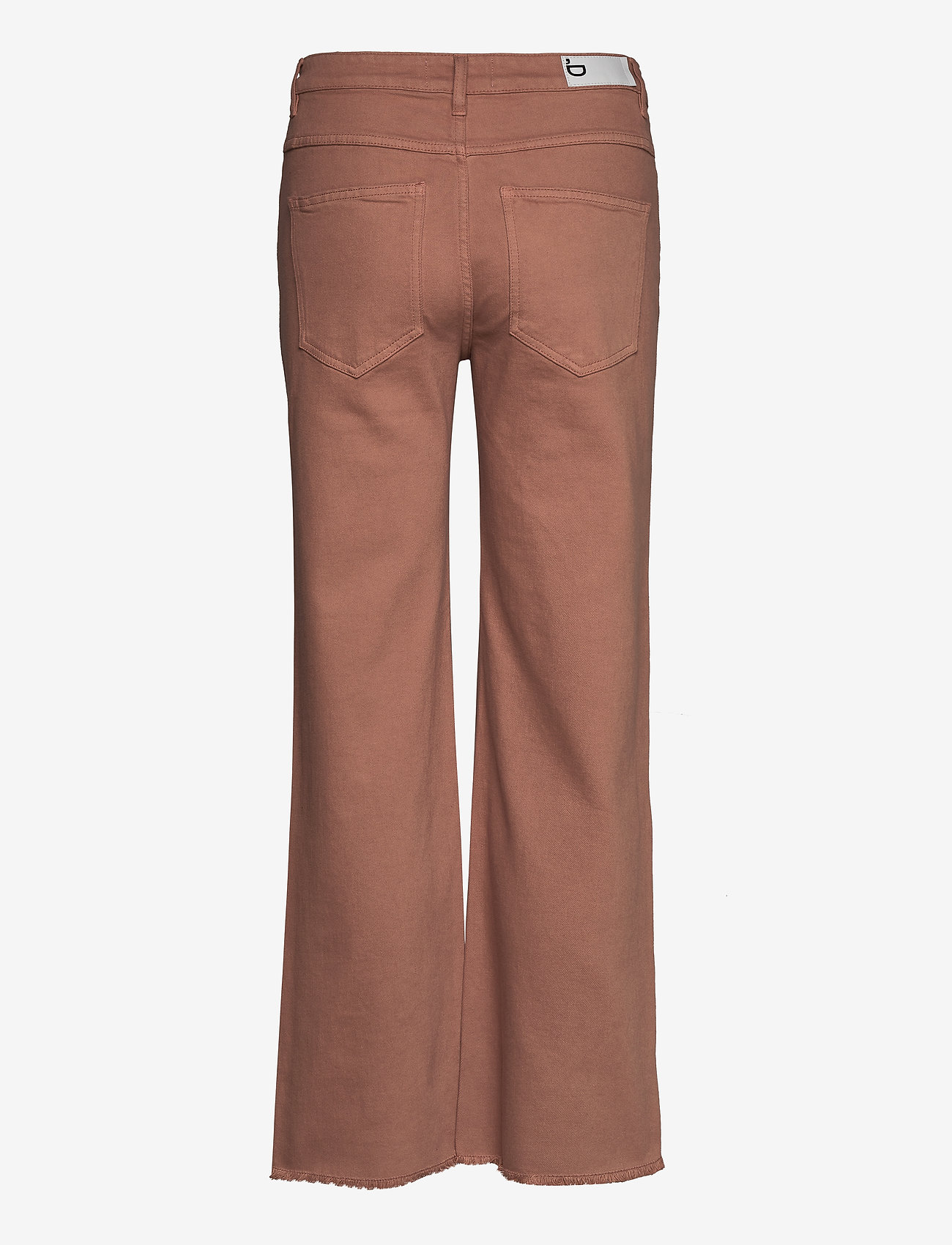 DESIGNERS, REMIX - High-rise straight-leg cropped jeans - straight regular - brown - 1