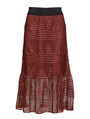Dina Skirt - OX BLOOD
