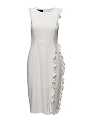 Georgia Curl Dress - CREAM