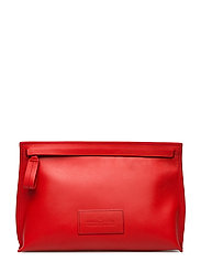 Gigi Medium Pouch - LIPSTICK RED