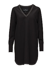 Sana Sleeve Dress - BLACK