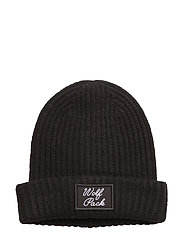 Molly Wolf Hat - BLACK