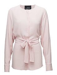 Kate Wrap Shirt - LIGHT PINK