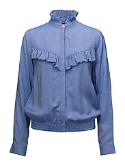 Alia Blouse - DENIM