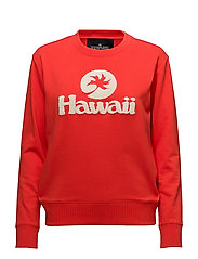Hawaii Sweatshirt - RED