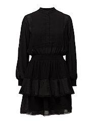Lea Short Dress - BLACK
