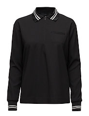 Dawn Polo Shirt - BLACK