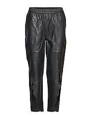 Erin Scallop Pants LB - BLACK