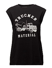 Travis Muscle Trucker - BLACK