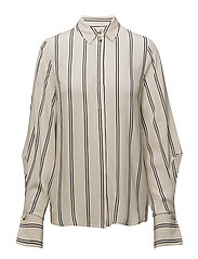 Viola Back Shirt - STRIPES