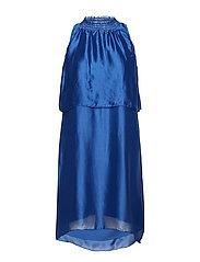 Dream Halter Dress - SKY BLUE
