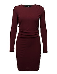 Melody Dress - BURGUNDY