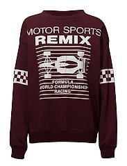 Lewis Motor Sweat - BURGUNDY