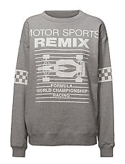 Lewis Motor Sweat - GREY MELANGE