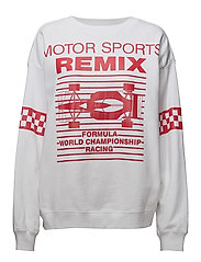 Lewis Motor Sweat - WHITE