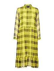 Archie Shirt Dress - CHECK