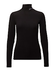 Caitlyn Turtleneck - BLACK